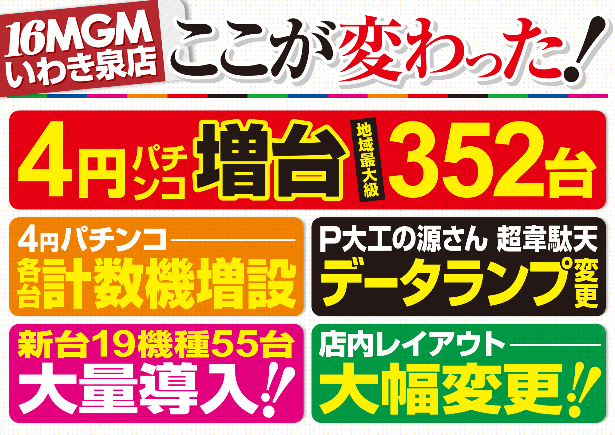 【4円パチンコ増台】
